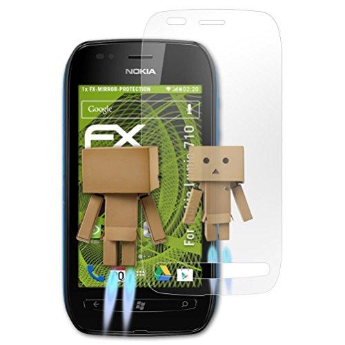 für Nokia Lumia 710 Spiegelfolie, Spiegeleffekt FX Schutzfolie ()