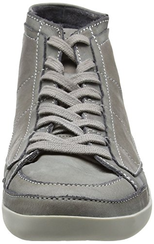 FLY London Tier239fly, Sneakers Hautes Homme Gris (Dk Grey 009)