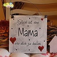 Shabby Style Holzschild - Glück ist, eine Mama wie dich zu haben ~ Mutter ~ Weihnachten ~ Geschenk