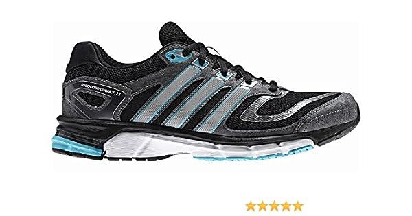 new concept e1255 760a0 Adidas Schuhe Running damen Response Cushion 22 Damen black1 runwh, Größe  Adidas 10.5  Amazon.de  Sport   Freizeit