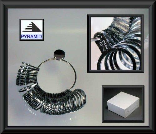 Ringmaß aus Metall, Messgerät für den Durchmesser von Ringen