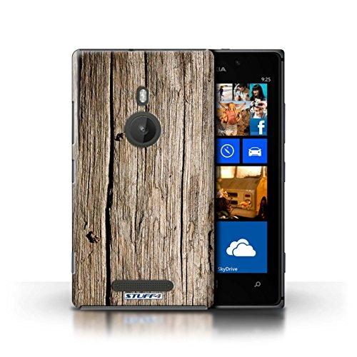 Stuff4® Hülle/Hülle für Nokia Lumia 925 / Treibholz Muster/Holz/Holzmaserung Muster Kollektion