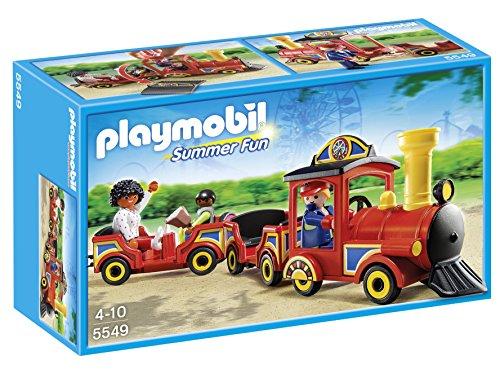 Playmobil Parque Atracciones - Tren niños, playset