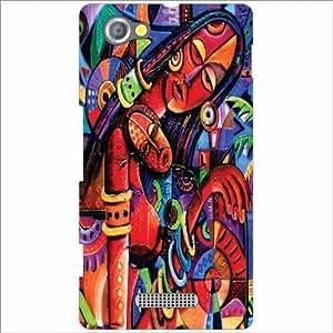 Sony Xperia M Back Cover - The Village Designer Cases