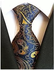 WZW Homme Rétro Soirée Travail Décontracté Polyester Cravate.Rayures Toutes les Saisons