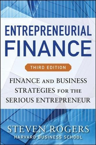 Entrepreneurial finance. Finance and business strategies (Economia e discipline aziendali)