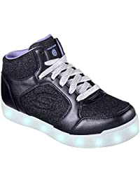Skechers Mädchen Energy Lights: E-pro Glitter Glow Hohe Sneaker
