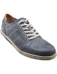 Mustang , Chaussures de ville à lacets pour homme Bleu Blau (Arktik 824)