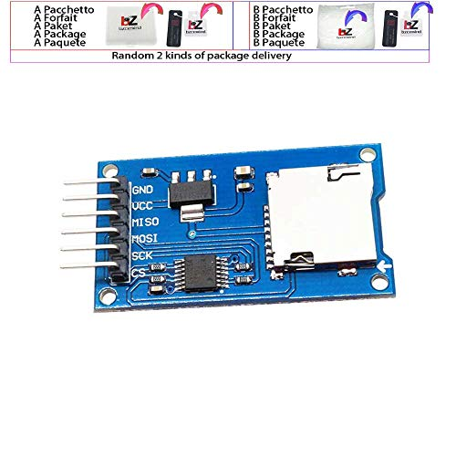 Mciro SD TF Card Memory Shield Modul SPI Micro SD Storage Expansion Board for Arduino 51 Wholesale (Security Card Shield)