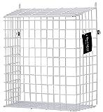 Buckingham 30051Front Tür Buchstabe Käfig, Guard, Korb, Mail-Catcher, Post Box, Briefkasten, vormontiert, weiß