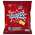 Walkers Squares Variety Multipack Snacks, 6 x 22 g