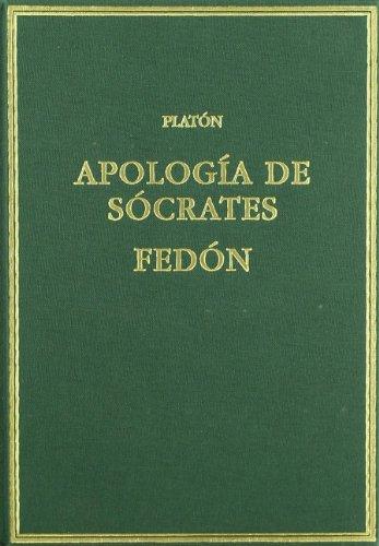 Apología de Sócrates; Fedón (Alma Mater) por Platón
