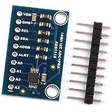 Module Ads1115 16 Bits I2c Adc 4 Canaux Avec Amplificateur De Gain Pour Rpi Arduino