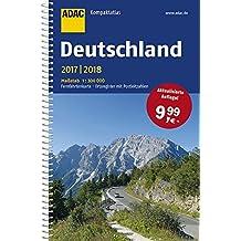 ADAC Kompaktatlas Deutschland 2017/2018 1:300 000 (ADAC Atlanten)