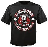 LAMB OF GOD - Pure American Metal - T-Shirt Größe XXL