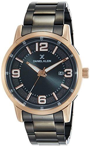 Daniel Klein Premium-Gents Analog Gunmetal Dial Men's Watch - DK11748-2