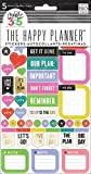 Me and My Big Ideas Create 365 Planner Stickers 5 Sheets/Pkg-Everyday Reminders,