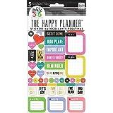 Me and My Big Ideas - Paquete de 5 páginas de 365 pegatinas organizadoras, distintos colores