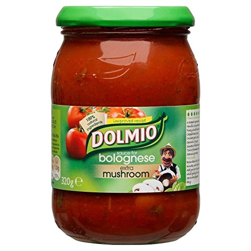 Dolmio Sauce Bolognaise - Champignon Supplémentaire (320G)