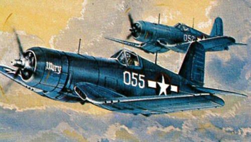 Revell Modellbausatz, Flugzeug F4U-1 Corsair aus Kunststoff (1 Revell Kits 144 Model)