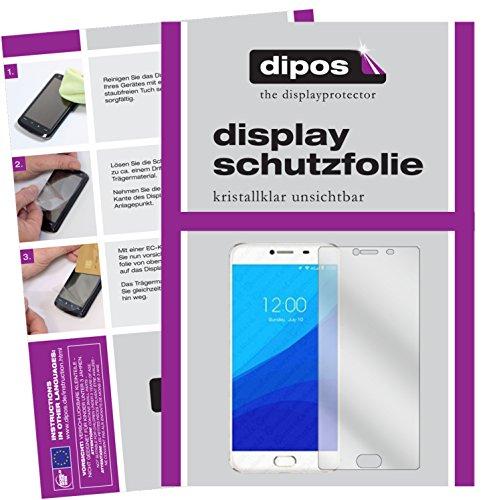 dipos I 2X Schutzfolie klar passend für Umidigi Z Pro Folie Bildschirmschutzfolie