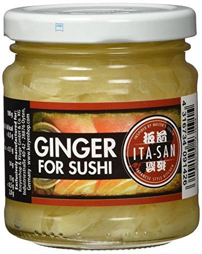 ITA SAN Ingwer für Sushi, 6er Pack (6 x 190 g)
