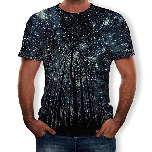 Luckycat Paar T-Shirt Herren T Shirt 3D Tier Drucken Kreativ Muster Kurzen Ärmels Mit Rundhalsausschnitt Lässig Graphic Top Tees Unisex 3D Druckten Sommer-beiläufige Kurze Hülsen-T-Shirts T-Stücke