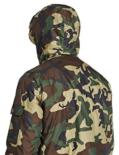 Dickies Herren Mantel Milford Grün Camouflage