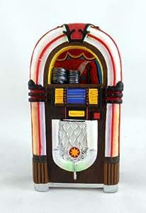 Town Square Miniatures - Jukebox Café Miniature Années 50 pour Maison de Poupées résine