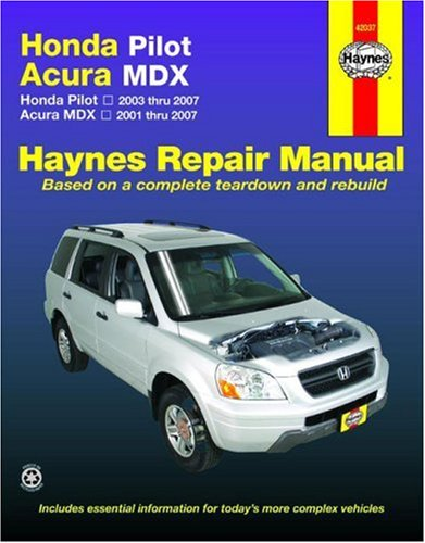 haynes-honda-pilot-acura-mdx-automotive-repair-manual-haynes-repair-manual