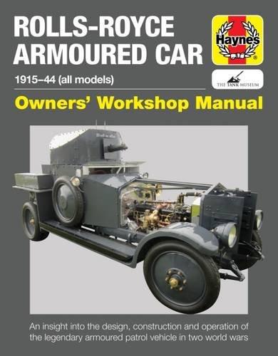 rolls-royce-armoured-car-manual-owners-workshop-manual