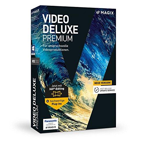 MAGIX Video deluxe – 2017 Premium – für anspruchsvolle Videobearbeitung
