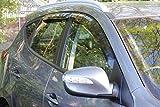 Windabweiser-Set für Hyundai, 4Stück, geräuchert