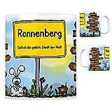 Ronnenberg - Einfach die geilste Stadt der Welt Kaffeebecher - eine coole Tasse von trendaffe - passende weitere Begriffe dazu: Stadt-Tasse Städte-Kaffeetasse Lokalpatriotismus Spruch kw Vörie Benthe Köln Weetzen Garbsen Gehrden Wennigsen Empelde Linderte Berlin Hannover Hemmingen Stockholm Langenhagen Laatzen bei Hannover Tasse Kaffeetasse Becher mug Teetasse oder Büro.