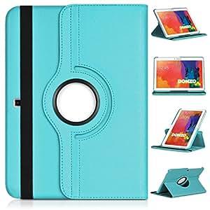 DONZO Wallet Structure 360 Tablet Tasche für Samsung Galaxy Tab 4 10.1 T530 T535 Türkis