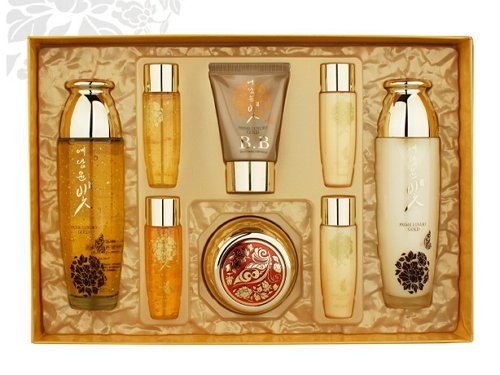 Korean Cosmetics_Yedam Yunbit Prime Luxury Gold 4pc Gift Set