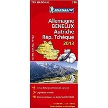 Carte NATIONALE Allemagne Benelux Autriche Rep Tchèque 2013 n°719