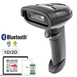 nt-1228bl Bluetooth QR 2D barcode scanner portatile USB wireless 1D 2D Imager di codici a barre per mobile Payment computer Screen Scan supporta iOS e Android