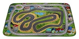 House Of Kids 88228-E3 - Alfombrilla de Juego Ultra Suave (70 x 95 cm), diseño de Ciudad de Carreras