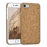 kwmobile Cover in sughero per Apple iPhone 7/8 - Backcover protettiva - Case protezione rigida smartphone Apple iPhone 7/8