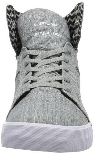 Supra - Skytop, Sneaker alte Unisex - Adulto Grigio (Grau (GREY - WHITE GYW))