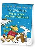 Leo Lausemaus Mein toller Winter - Malblock