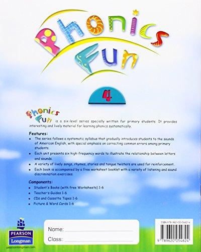 Phonics Fun Student Book 4