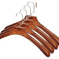 Log rack/ tinta legno antiscivolo hanger/ vestiti senza giunte prop/ stendini per uso domestico-G