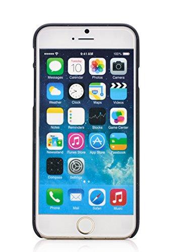 iProtect Schutzhülle Camouflage Apple iPhone 6, 6s Hardcase braun iPhone Menu