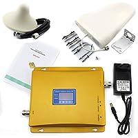 Dual Band GSM900MHz dcs1800mhz amplificatore di segnale ripetitore amplificatore ripetitore amplificatore di segnale cellulare + 1X 10bdi all' aperto antenna + 1X 7bdi interno di antenna