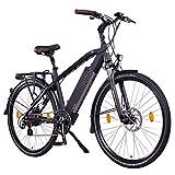 NCM Venice 48V 28 Zoll Urban E-Bike 250W Das-Kit Heckmotor 13Ah 624Wh Li-Ion Zellen Akku schwarz (NCM Venice 48V)
