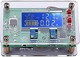 Yeeco DC-DC Einstellbare 6-32V zu 1.5-32V Buck-Spannungswandler Stabilizer Step Down Voltage Regulator Reducer Power Module mit Schutzhülle USB-Ausgang Constant Volt Ampere 6V 12V 24V Dual Voltage Ampere LCD-Anzeige für LED-Treiber-Schalter Stromversorgung