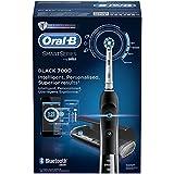 Oral-B PRO 7000 CrossAction Smart Series - Cepillo de dientes eléctrico recargable con conectividad Bluetooth y tecnología Braun, edición negro