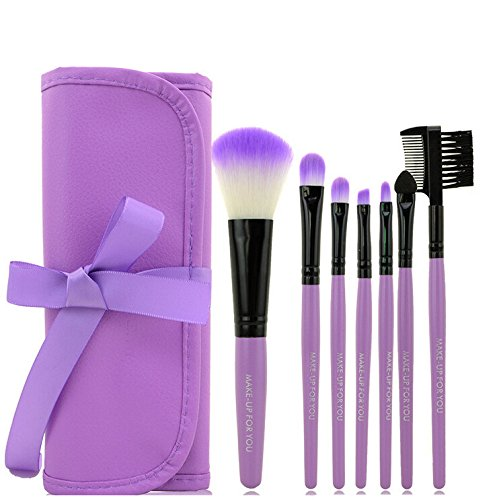 7pcs / set professionnel Maquillage brosse,Ensembles Beauté Brush